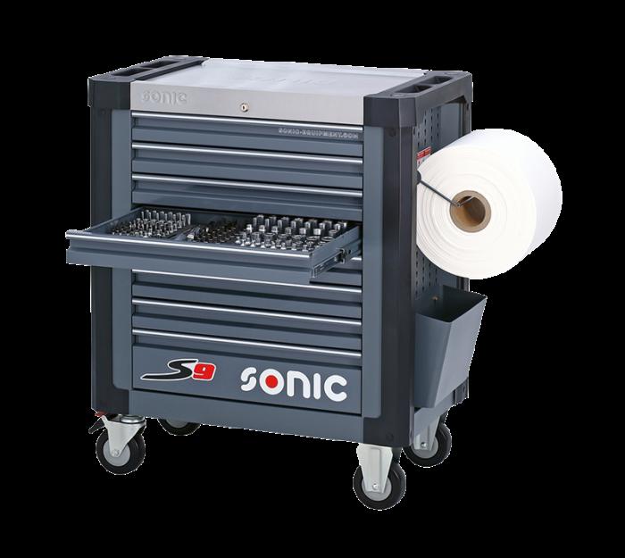 Dulap scule SONIC S8 echipat cu 241 piese, 8 sertare [0]