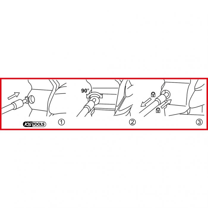 Extractor pentru manerul de usa pentru vag [5]