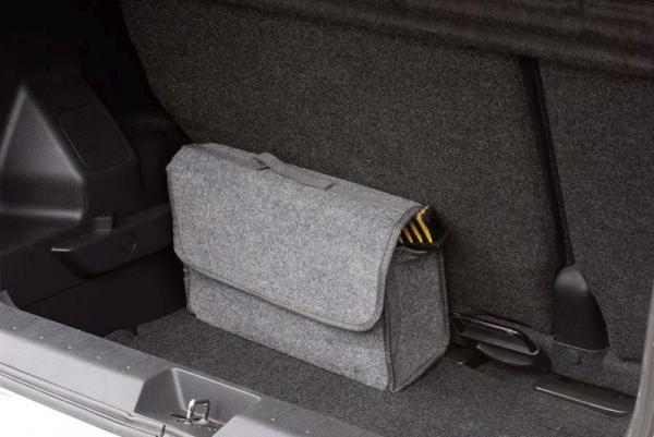 Geanta organizare portbagaj culoare: gri, 15x35x25 mm [0]