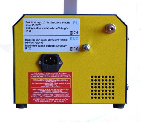 Generator ozon igienizare sistem habitaclu auto Magneti Marelli 4g/ h [3]