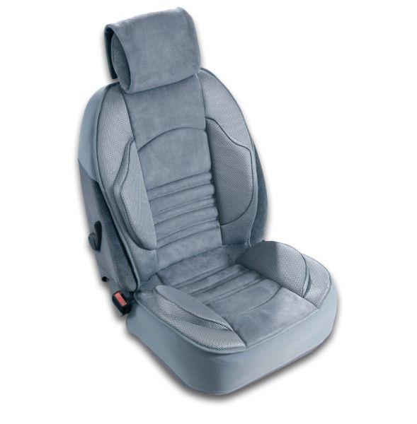 Husa scaun auto confort ridicat (poliester, compatibila cu airbag, tetiera integrata, burete cu memorie, 112x51) [0]