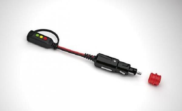 Indicator incarcare autovehicul prin conector bricheta maxim 7A [0]