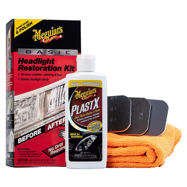 Kit restaurare faruri MEGUIAR'S BASIC HEADLIGHT RESTORATION KIT 0