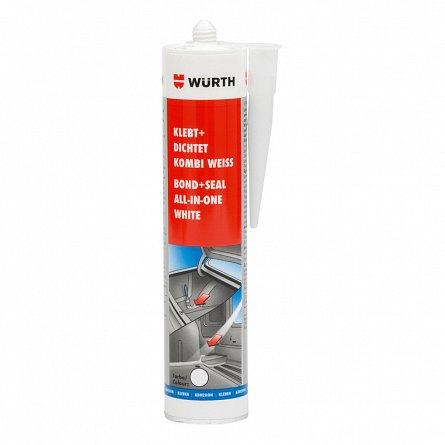 Mastic lipire/etans pulverizabil negru 310m Wurth [0]