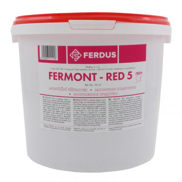 Pasta vulcanizare FERMONT RED 5L [0]