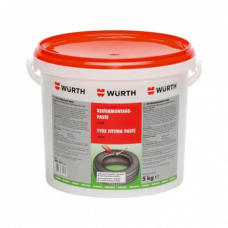 Pasta vulcanizare montaj anvelope alba 5 kg Wurth 0