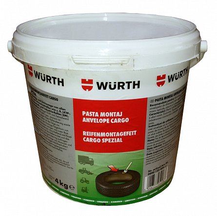Pasta vulcanizare montaj anvelope CARGO 4 kg Wurth 0