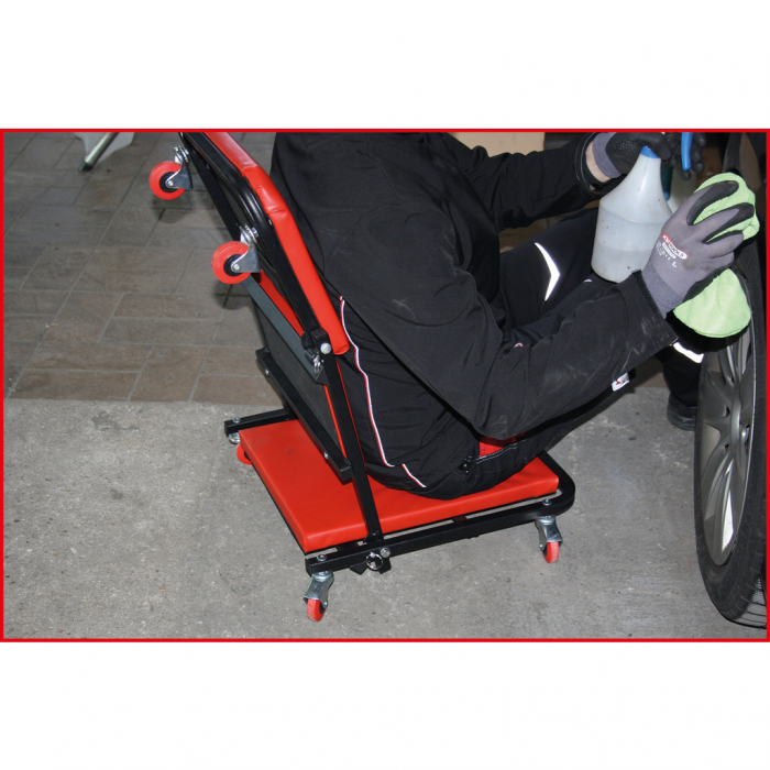 Pat de atelier si scaun pliant 1040x490mm [5]