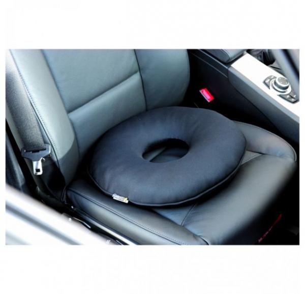 Perna scaun Grand Comfort (poliester, pentru masina, birou, casa, spuma de memorie, 40x10) [1]