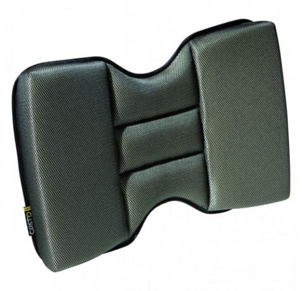 Perna spatar Grand Comfort (poliester, pentru masina, birou, casa, spuma de memorie, 40x27x7 cm) [0]
