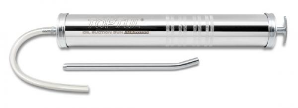 Pompa ulei manuala 1000 cc 445 mm furtun flexibil 27.5 cm furtun fix 23 cm 0