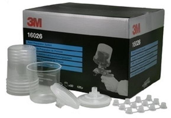 PPS standard 0.65L-50 Pungi Standard&capace cu filtru 125microni&20 dopuri 3M [0]