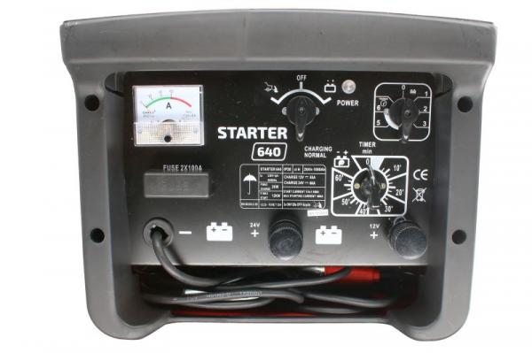 Redresor curent cu functie de robot de pornire STARTER 640 2
