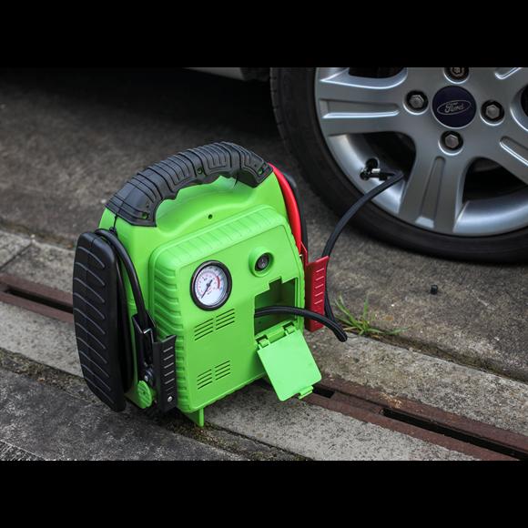 Robot pornire ROADSTART 12V 900Amp cu compresor 3