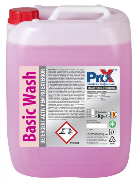 Spuma activa Basic Wash, bidon 11kg 0