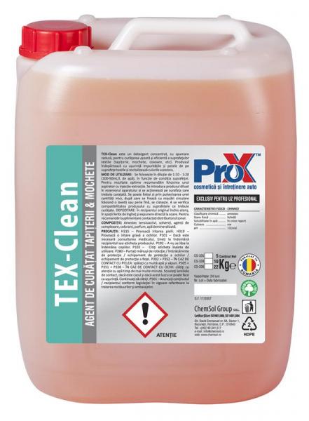 Solutie curatare tapiterii si mochete Tex Clean bidon 5kg 0