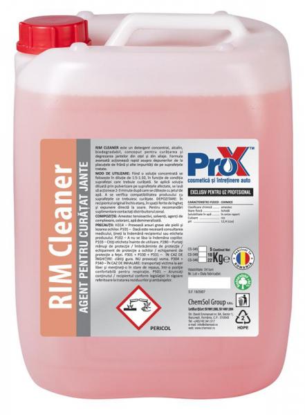 Solutie curatare jante auto RIM CLEANER bidon 5kg 0