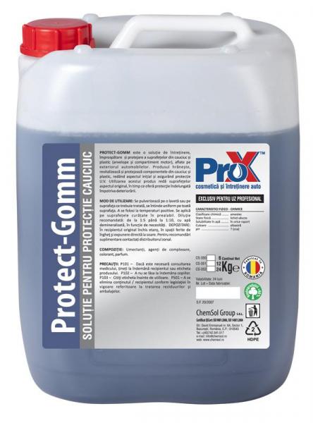 Solutie protectie cauciuc PROTECT GOMM bidon 6kg [0]