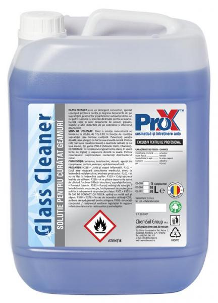Solutie curata geamuri GLASS CLEANER bidon 5L [0]