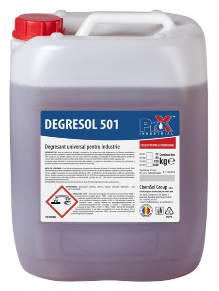 Degresant universal industrial DEGRESOL 501 bidon 11kg [0]