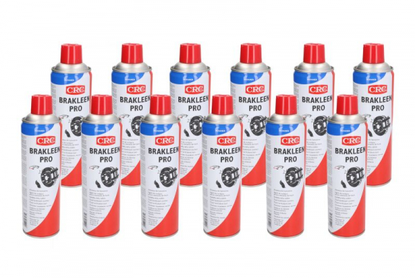 Set 12bucati, Spray curatare frana CRC PRO, 500ml 0