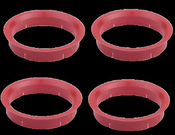 Set 4 inele centrare 63,3 / 58,1 Alfa Romeo Citroen Fiat Lancia Peugeot [0]