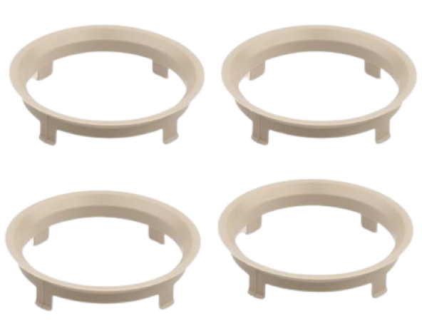 Set 4 inele centrare 70,1 / 66,1 Dacia Renault Nissan [0]
