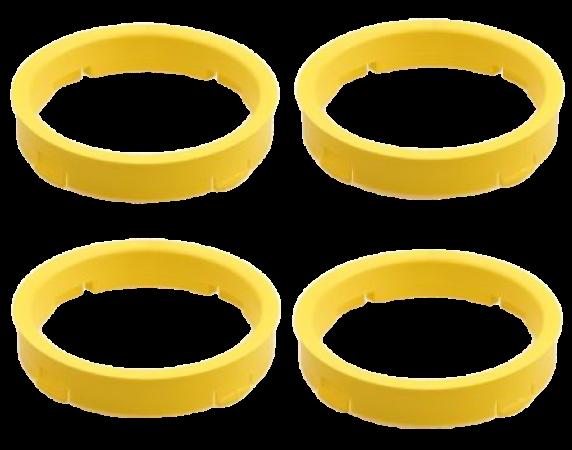 Set 4 inele centrare 73,1 / 65,1 Alfa Romeo Citroen Ford Opel Peugeot [0]