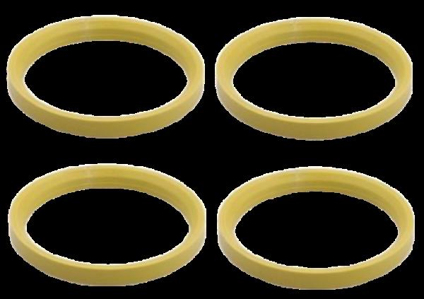 Set 4 inele centrare 76,0 / 66,1 Dacia Renault Nissan [0]