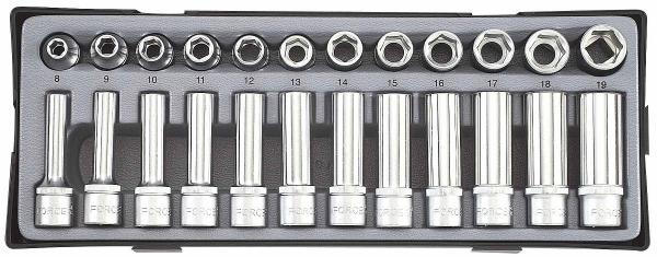 Set chei tubulare 1/2''- 24 piese 1