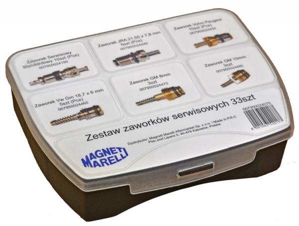 Set 33 valve supape service aer conditionat auto Magneti Marelli 0