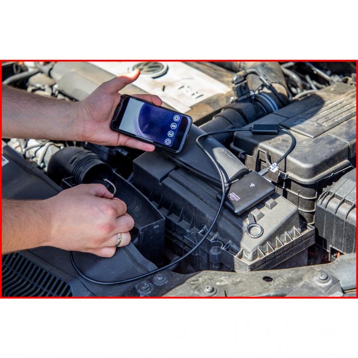 Set videoscop wi fi cu diametru 60 mm 0 grade sonda camera hd 90 grade reversibil 4 piese 8