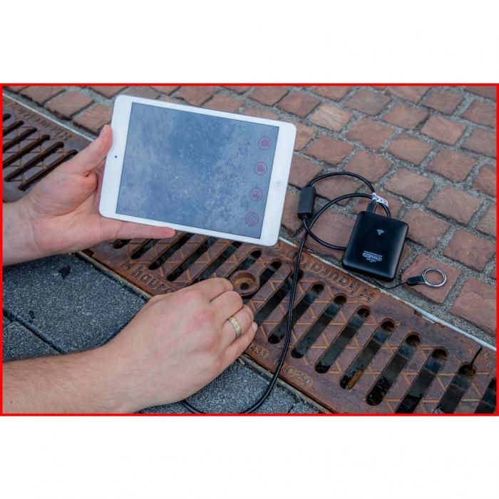Set videoscop wi fi cu diametru 60 mm 0 grade sonda camera hd 90 grade reversibil 4 piese 5