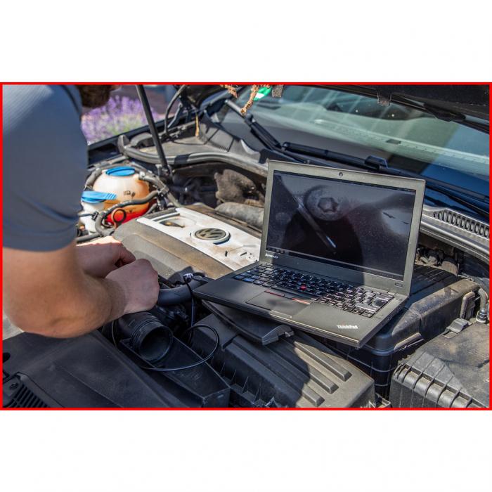 Set videoscop wi fi cu diametru 60 mm 0 grade sonda camera hd 90 grade reversibil 4 piese 7