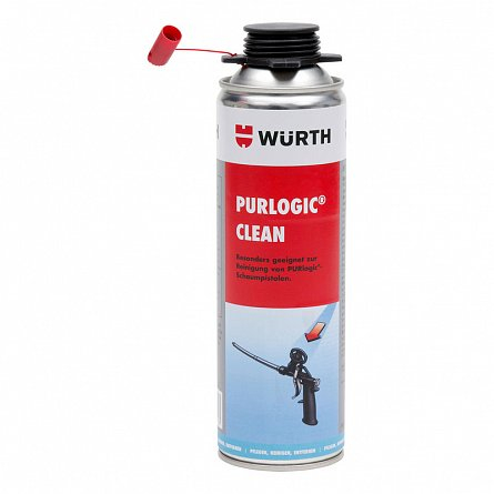 Solutie curatare spume PU neintarita Wurth, 500 ml 0