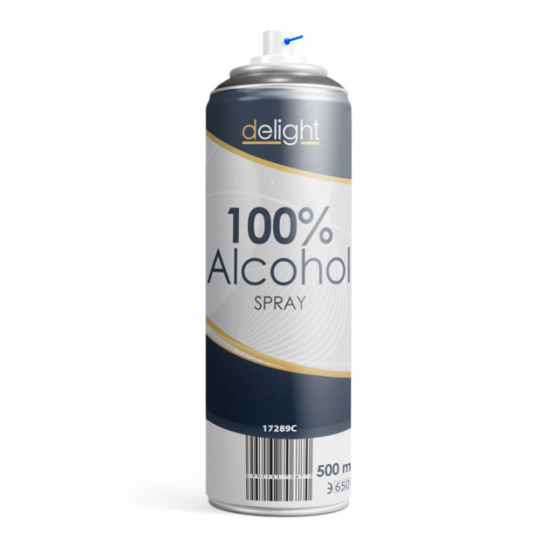 Spray Alcool 100% - 500 ml 0