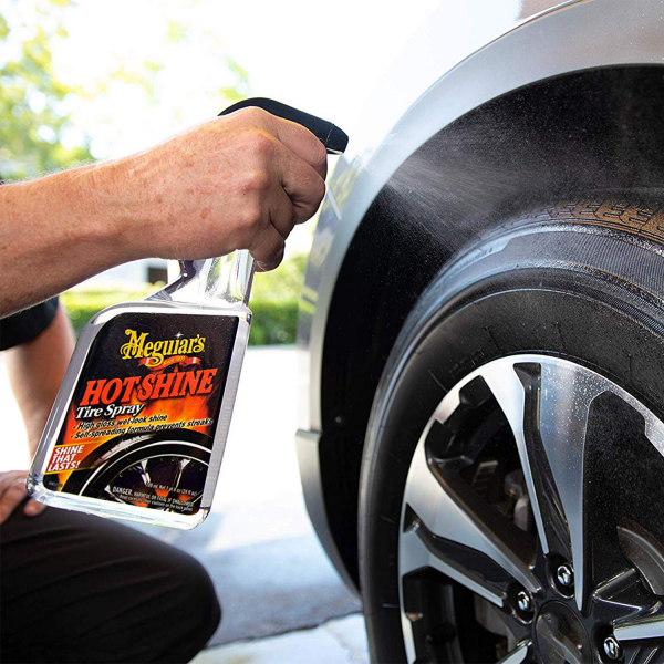 Spray curatare anvelope MEGUIAR'S HOT SHINE TYRE DRESSING 710ml 3