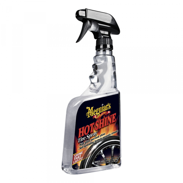 Spray curatare anvelope MEGUIAR'S HOT SHINE TYRE DRESSING 710ml 0