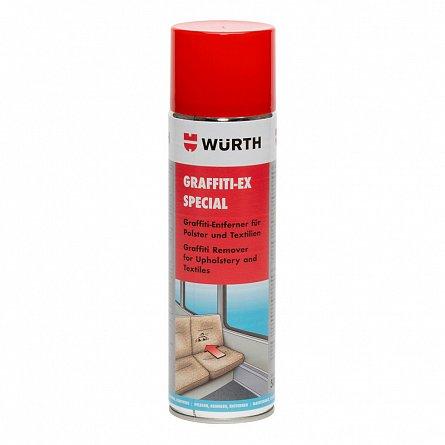 Spray curatare graffiti si tapiterie Wurth, 500 ml 0