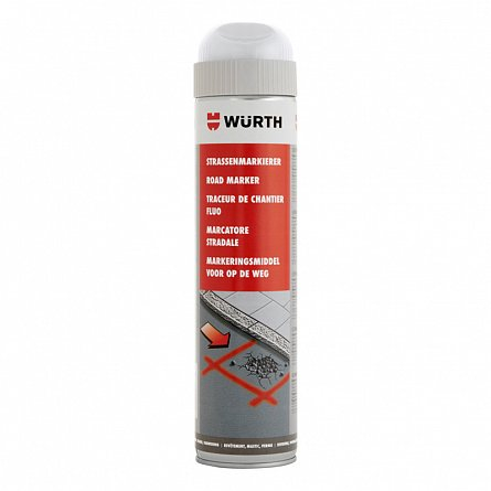 Spray pentru marcaje - alb, Wurth 600 ml [0]