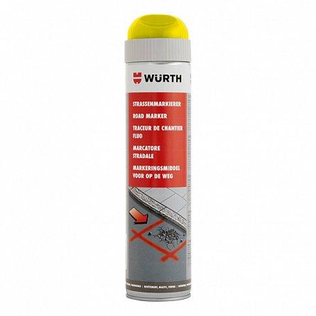 Spray pentru marcaje - galben neon, Wurth 600 ml 0