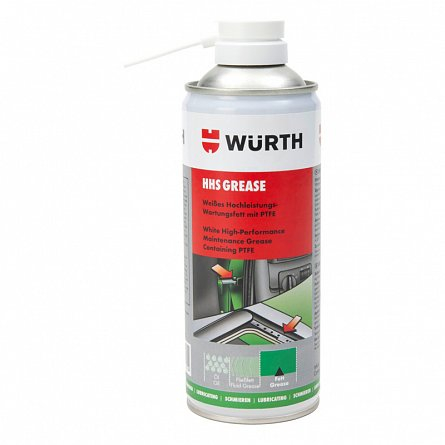 Spray vaselina alba cu PTFE, Wurth 400 ml 0