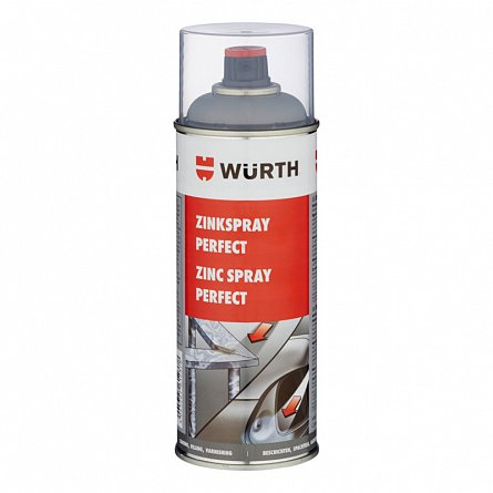 Spray zinc Perfect 400 ml Wurth 0
