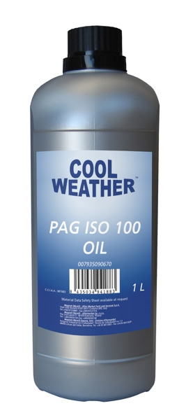 Ulei instalatie AC tip PAG OIL ISO100 1l 0