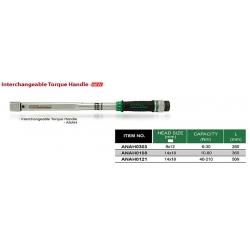 Cheie dinamometrica 40-210Nm 510mm Toptul1