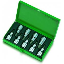 Set 9 bucati torx  1/2 9bucati cutie metalica1