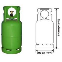 Butelie freon auto 12kg tip R134a