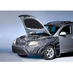 Husa frontala auto 400 x 86 cm negru prindere de oglinzi0