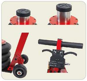 Cric pneumatic 2T tip perna aer cu ridicare inalta 115-430mm2