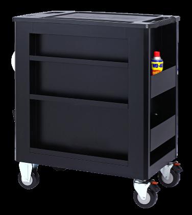 Dulap scule echipat cu piese: 644 piese, SONIC HEAVY DUTY TRUCK S10 negru 8 sertare [3]